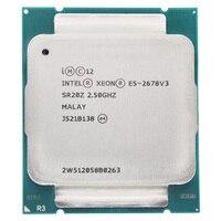 Intel Xeon Processor E5 2678 V3 e5 2678 V3 2678V3 CPU 2.5G Serve CPU LGA 2011 3 PC Desktop processor CPU For X99 motherboard