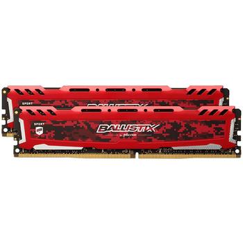 Ballistix Sport platynowa czerwona pamięć sportowa DDR4 2400 MT s (PC4-19200) DDR4 4GB 8GB 16GB 32GB LT DIMM 288-shot MHz tanie i dobre opinie Galaird Używane Pulpit Bez ECC 288pin 1 2 V 2400MHz 2666MHz 3000MHz 3200MHz