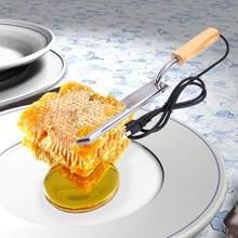 1 pièces électrique miel dispositif de coupe électrique miel couteau apiculture équipement température constante grattoir abeille extracteur outil chaud