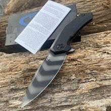 ZT 0095 titanium alloy handle Hiking knife S90V blade 59 Hardness CNC precision machining Screws ultra precision machining of electroless nickel