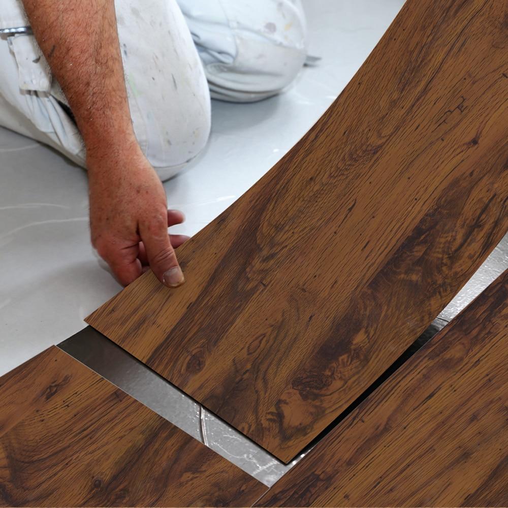 Japanese Willow Floor Stickers Floor Wallpaper Waterproof Wear-Resistant Self-Adhesive Floor Tile Living Room Bedroom EWF063