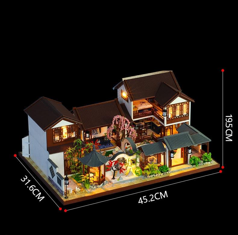 Jiangnan Water Town DIY 3D Miniature House