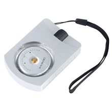 Clinometer for Measuring-Heights Slopes Angles Silver Accurate Professional Handheld