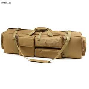 Image 3 - M249 Nylon Rifle Gun Carry Case Tactical Military Shooting Airsoft Rifle Gun Holster Large Loading Gun Bag Shoulder Bag