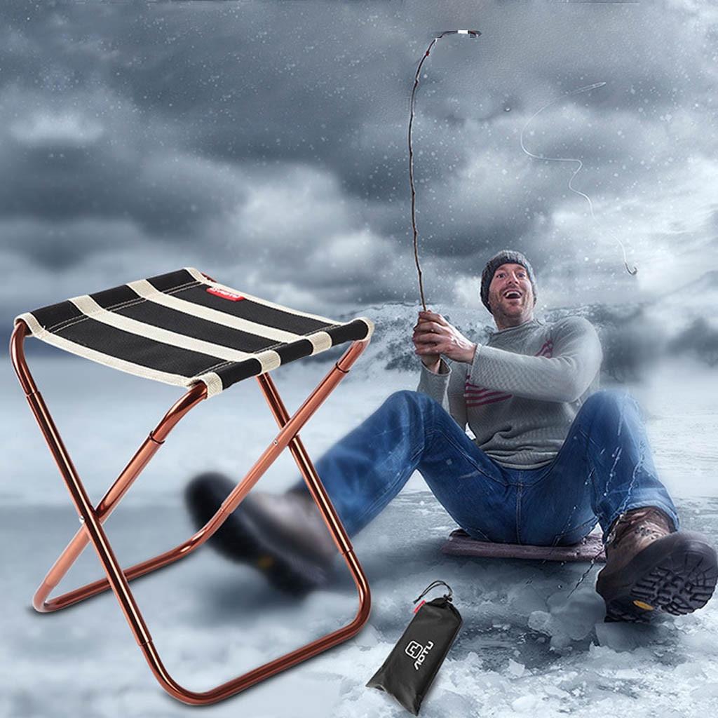 Portable Folding Chair Outdoor Camping Fishing Picnic Beach BBQ Stools Mini-Seat