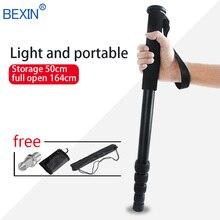 цены на BEXIN travel camera phone support rod Walk stick lightweight portable flexible unipod dslr video camera monopod for Canon Nikon  в интернет-магазинах
