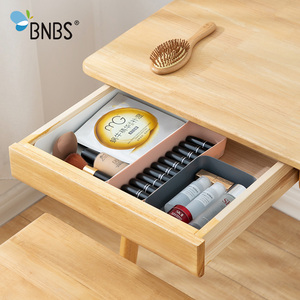 Drawer Cosmetics Organiser Dividers For Boxes Makeup Organizer Plastic Drawers Desktop Stationery Data Cable Storage Box