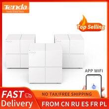 Tenda MW6 – système WiFi en maille pour toute la maison, routeur et répéteur sans fil 11AC 2.4G/5.0GHz, gestion à distance via application
