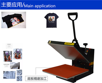 Heat Press Machine Sublimation Screen Printer 2D Thermal Transfer Cloth T-shirt Electric 2200W Heat Press Printing Machine цена 2017