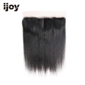 """Image 5 - Human Hair With 4x13 Lace Frontal #1B/4/27/30/33/99J/Burgundy 8"""" 20"""" M Non Remy Straight Closure Brazilian Hair Extension IJOY"""