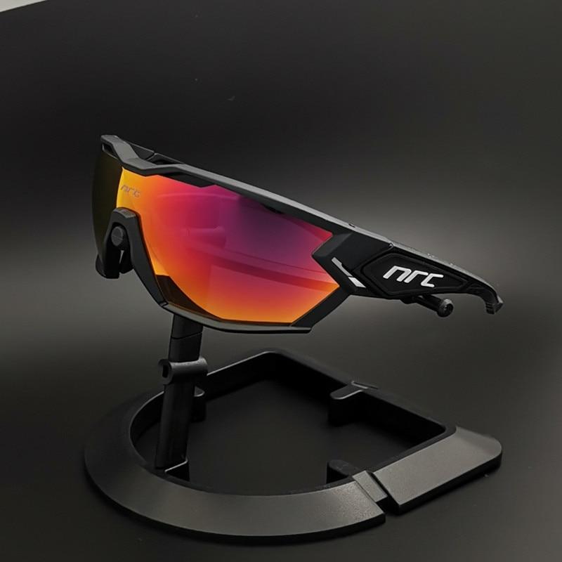 NRC Cycling Glasses Men Photochromic MTB Riding Sports Glasses Discoloration Bike Goggles Cycling Sunglasses Gafas Ciclismo