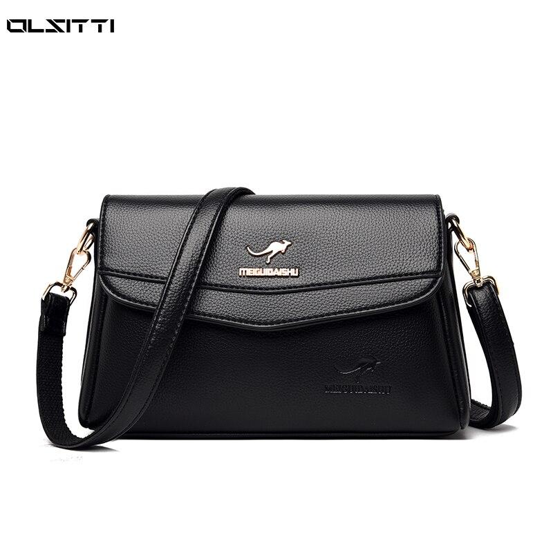 Кожаные сумки через плечо высокого качества для женщин, новинка 2021, дизайнерская маленькая квадратная сумка, роскошная Брендовая женская д...