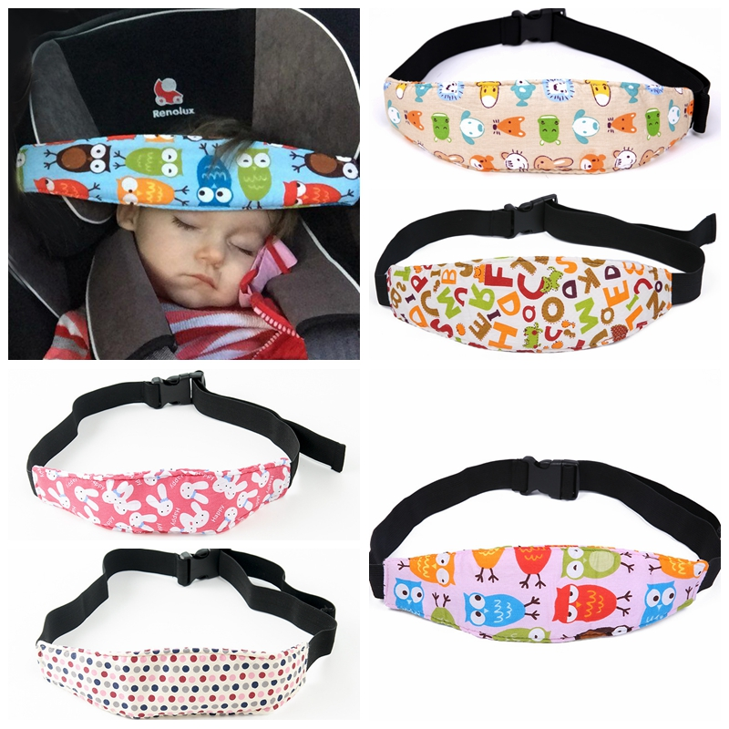 Dropship Infant Baby Car Seat Head Support Children Belt Fastening Belt Adjustable Playpens Sleep Positioner Baby Saftey Pillows
