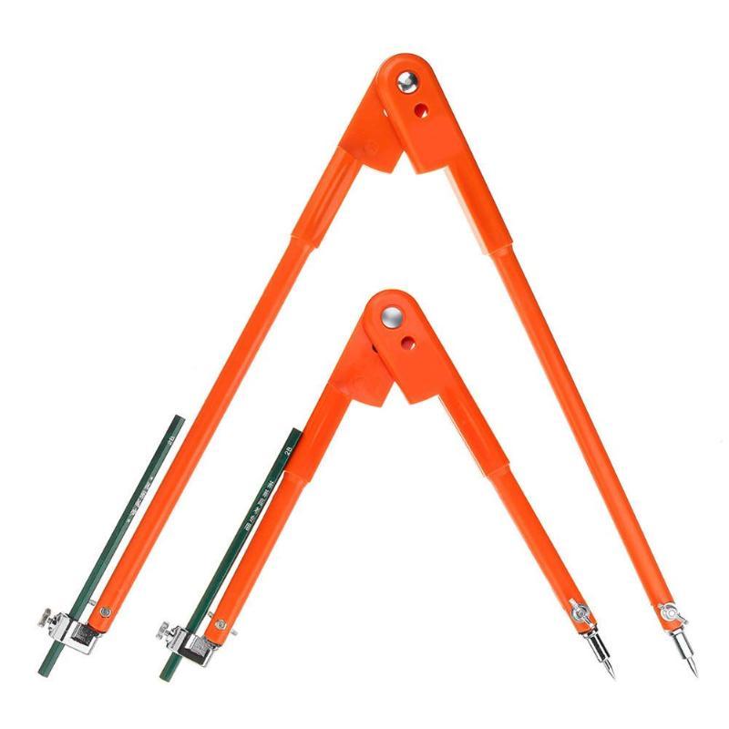 45 stahl Circular Kennzeichnung Linie Scribe Holz Arbeits Zeichnung Kompass Industrie Werkzeug Kompakte und Portable Tragen Bequem