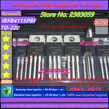 Aoweziic 2019 + 100% original importado novo irfb4115pbf irfb4115 para 220 fet 150 v 104a