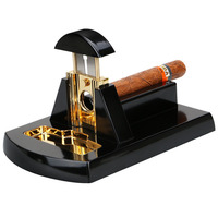 Stainless Steel Cigar Cutter Shear table Triple Blade Cuba Cigars Scissors Sharp Cut Cigar Cutter Cigar Accessories