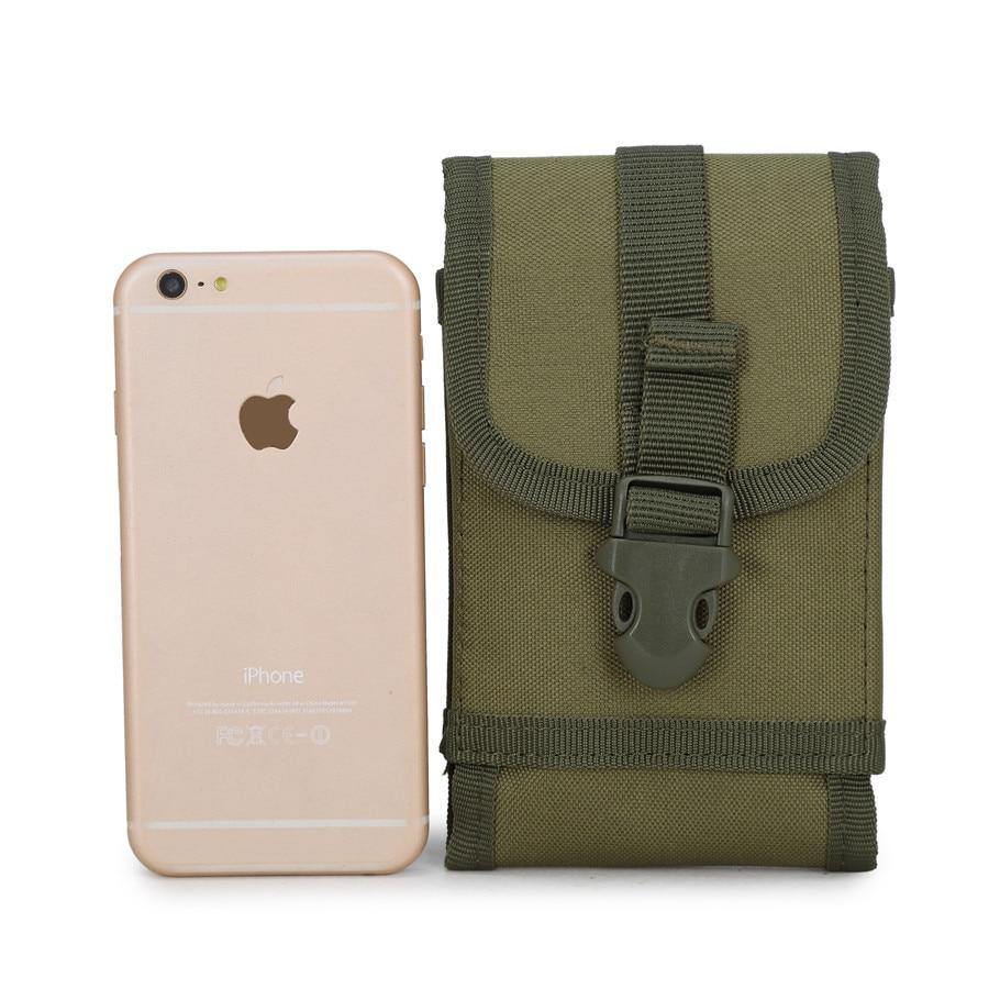 Jun Sheng Army Fans Tactical Waist Pack Pannier Bag Nylon Outdoor Casual Sports Men's Multi-functional Big Screen Mobile Phone B