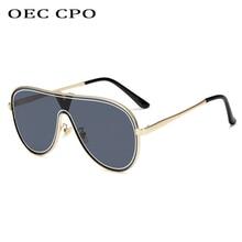 Brand Designer Luxury vintage flat top Sunglasses