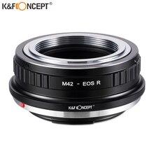 K & F קונספט M42 עדשה כדי EOS R מצלמה מתאם עבור Pentax PK עדשה כדי Canon EOS R מצלמה גוף