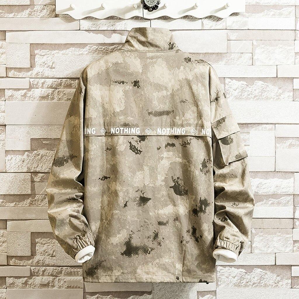Повседневный Камуфляжный лоскутный пуловер с капюшоном для пар, спортивная куртка, верхняя одежда, пальто на молнии, повседневная мужская в...