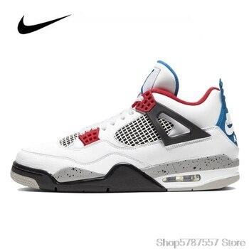 Nike Hava ürdün 4 Erkek Basket Topu Ayakkabı Orijinal Yüksek Top Jordan Sneakers Basketbol Ayakkabıları Erkekler Unisex Kadın CI1184-146