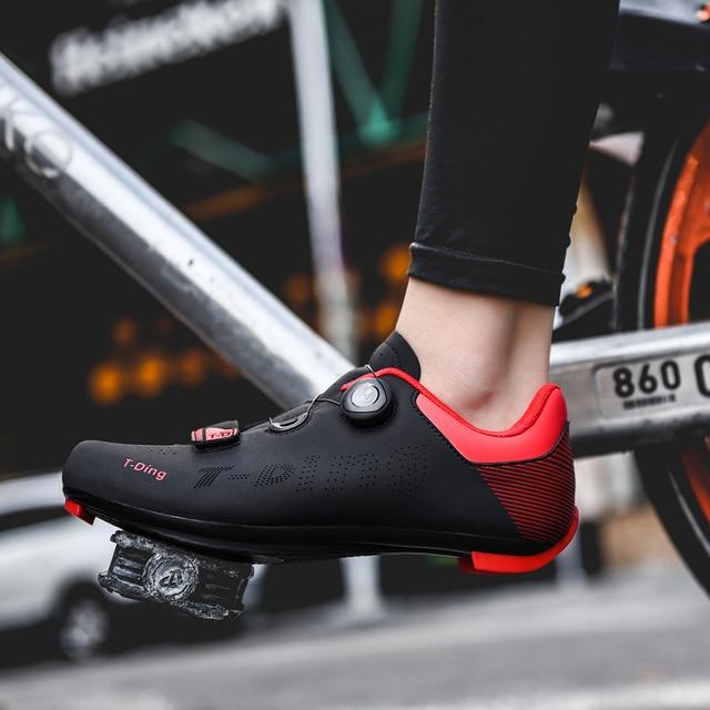 2020 nova upline sapatos de ciclismo de estrada dos homens sapatos de bicicleta de estrada ultraleve tênis de auto-bloqueio profissional respirável 3