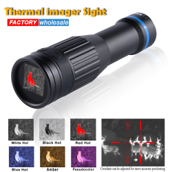 New thermal imager hunting Monocular Crosshair red dot Trail Optical sights Hunting Scope Infrared Night Vision Camera Telescope