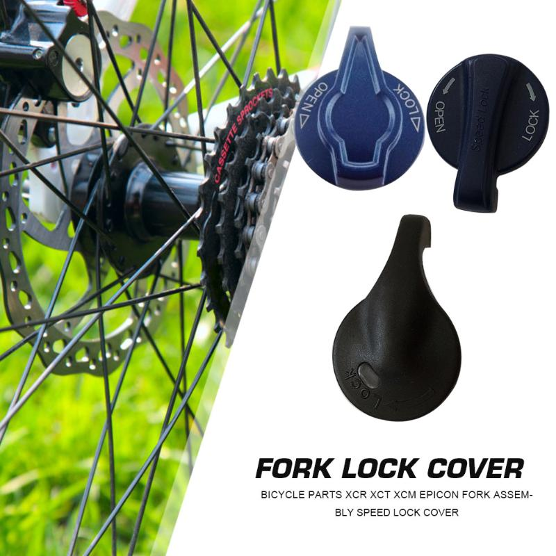 XCR XCT XCM Epicon Front Fork Speed Lock Cap MTB Bicycle Cycling Accessories