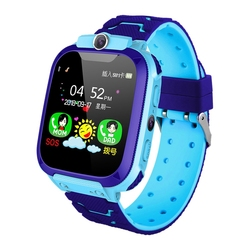 Kids Intelligent Phone Watch with Sim Card Slot 1.44 Inch Pressing Screen with Gps Tracking Function Voice Chat Photograph Compa