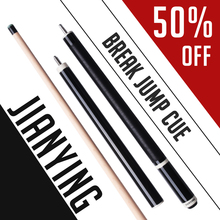 58' Jianying Punch Jump Cue 13.2mm Tip Hard Maple Shaft Linen Wrap Professional Break Cue Billiards Stick Help You Break And Run