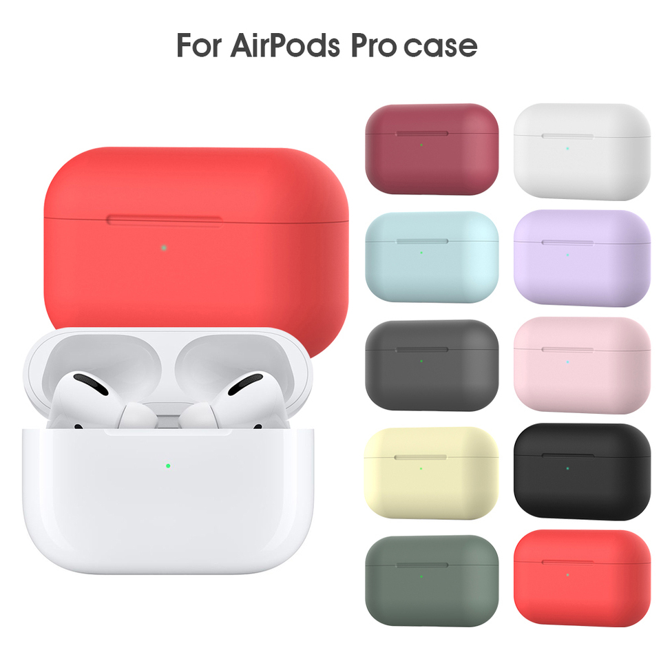 Silicone Case For Airpods Pro Case Wireless Bluetooth Headphone