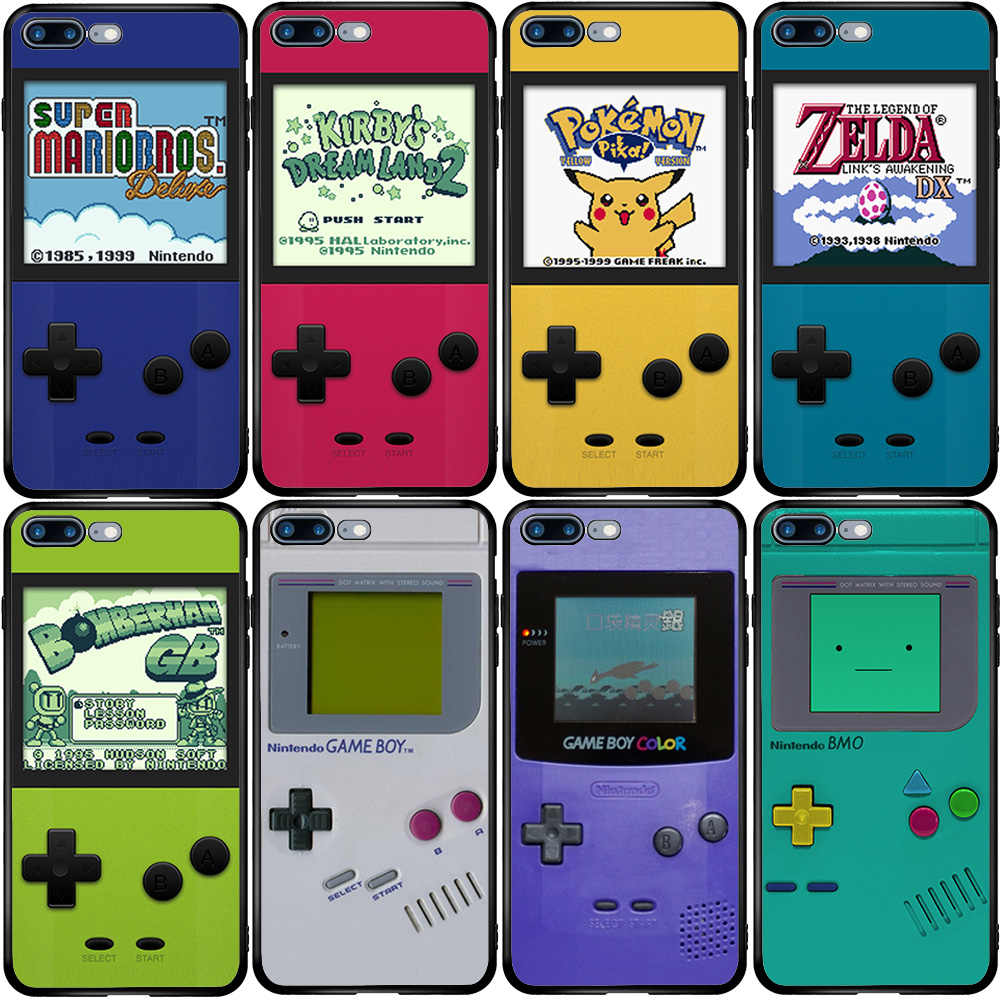 Gameboy Game Boy สำหรับ iPhone 5 5S SE 6 6S 7 8 PLUS XR X XS 11 PRO MAX OnePlus 3 T 5T 6T 7T