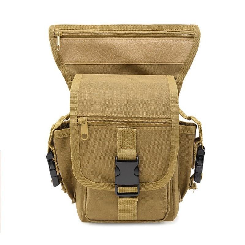 Tactical Belt Bag Men Army Vintage Thigh Bag Utility Waist Pack Pouch Adjustable Hiking Male Waist Hip Motorcycle Leg Bag