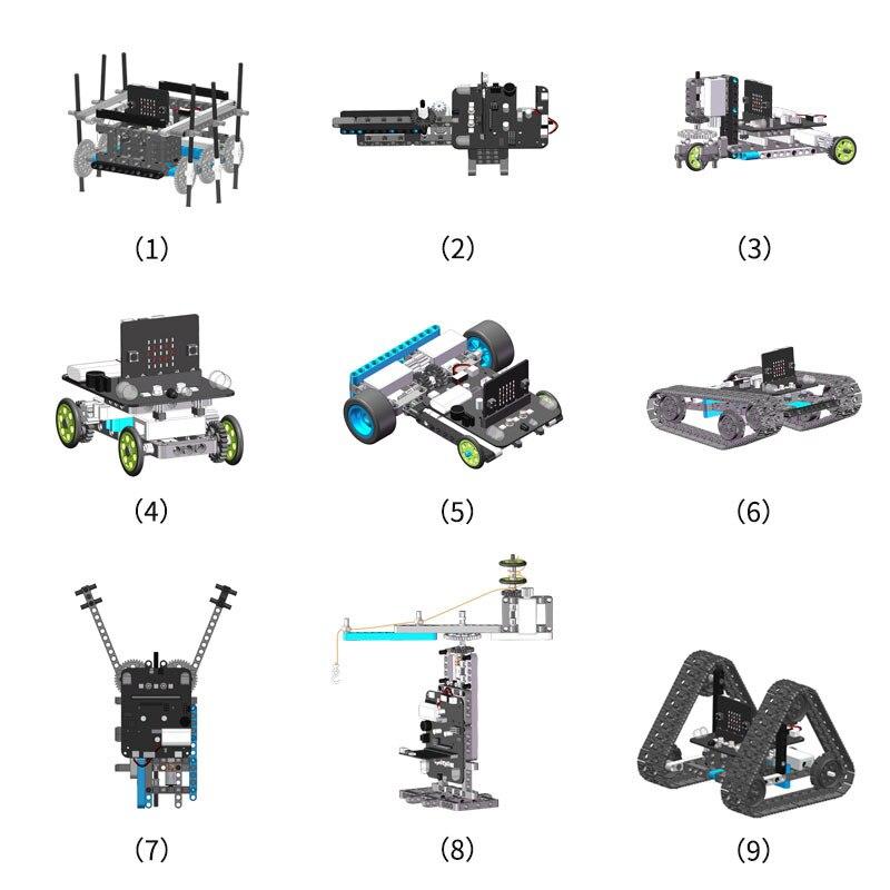 Microbit programmierbare gebäude block kit kinder elektronische modul micro: bit pädagogisches spielzeug roboter kompatibel mit Legoing bu - 2
