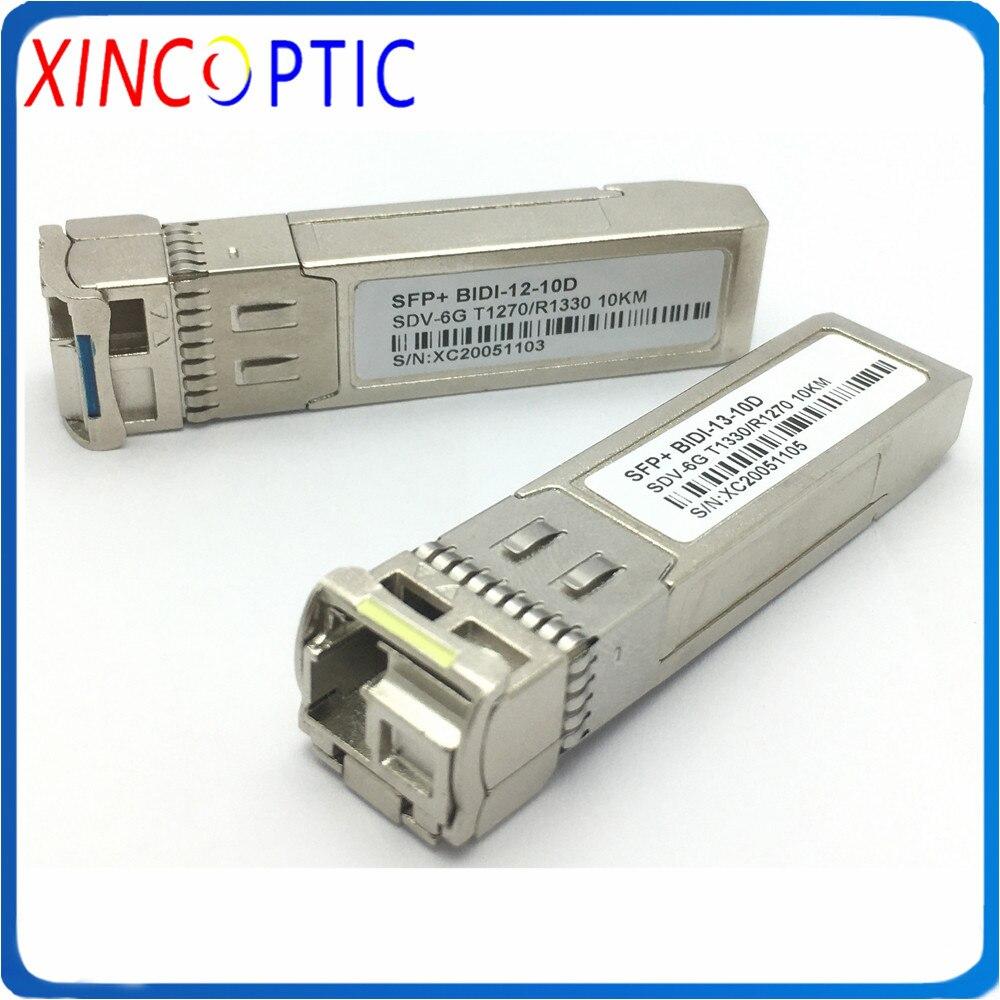 3G/6G/12G vidéo BIDI SFP avec fonction SDI 10/20KM,6G 3G 12G SM 1310/1550nm 10km 20km bidirectionnel SDI SFP émetteur-récepteur vidéo