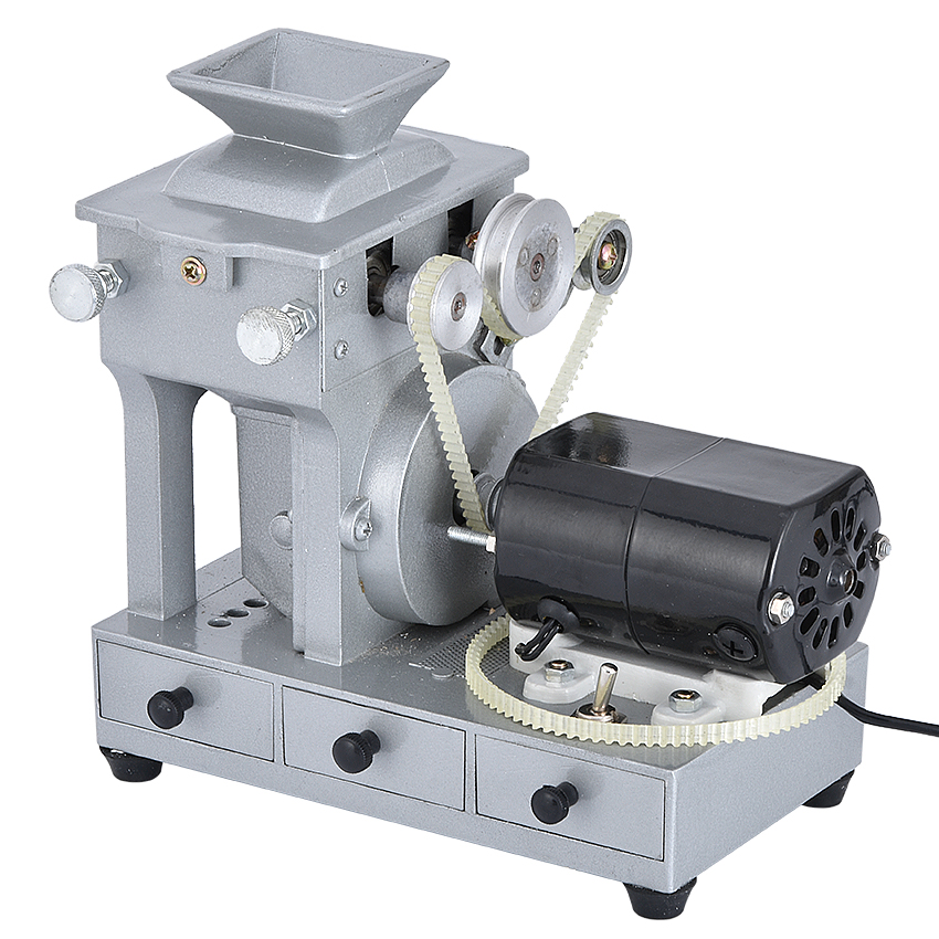 <font><b>7888</b></font> Electric Rice Seed Hulling Machine Rice Hulled Machine 5999r/Min Out Of Rough Rice Huller 100W Grain Sheller 220V/110V image