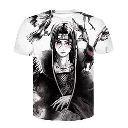 Nowy 2020 Aikooki 3D Naruto t koszula mężczyźni/kobiety moda Streetwear Hip Hop Harajuku 3D drukuj Naruto męska koszulka ubrania góry 3