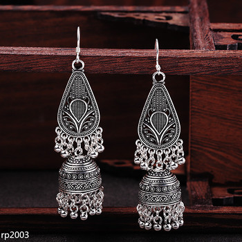 KJJEAXCMY Fine Jewelry Thai silver S925 sterling silver exaggerated ladies Indonesian tassels earrings new