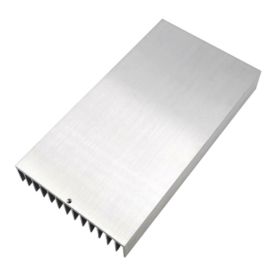 220x120x27mm Big Heatsink Aluminum Alloy Cooling Board Radiator Plate For High Power LED Lights Lamp Heat Dissipation Cooling