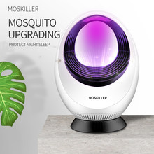 Upgraden 365nm Uv Golf Mosquito Killer Lamp Geen Straling Insect Killer Muggenval Licht Anti Mosquito Voor Slaapkamer Thuis(China)