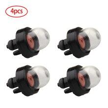 4Pcs Oil Bubble Petrol Snap In Primer Fuel Bulb Pump for Homelite Poulan Craftsman Chainsaw 188-512-1 Car Accessories