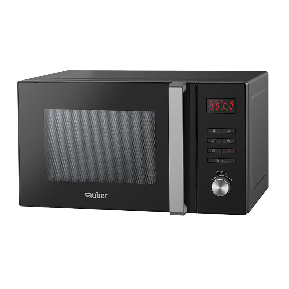 Microware Oven With Grill Sauber HMS04BDG 23 Liter Black