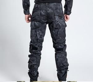 Image 2 - Pantalones de estilo militar táctico para hombre, pantalón de camuflaje para caza, pantalón urbano para hombre, traje de pitón de tren Ripstop, moda para hombre