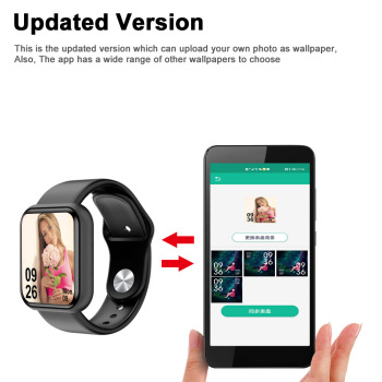 D20 Pro Smart Watch Y68 Bluetooth Fitness Tracker Sports Watch Heart Rate Monitor Blood Pressure Smart Bracelet for Android IOS 2