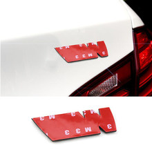 1pcs 5.9*2.2 centímetros Adesivo de Carro Auto Decal para BMWs M M6 M5 M4 GTS M3 X5M X6M Poder Desempenho SUV E90 E60 E46 F10 E39 X6 X5 X4 X3 M