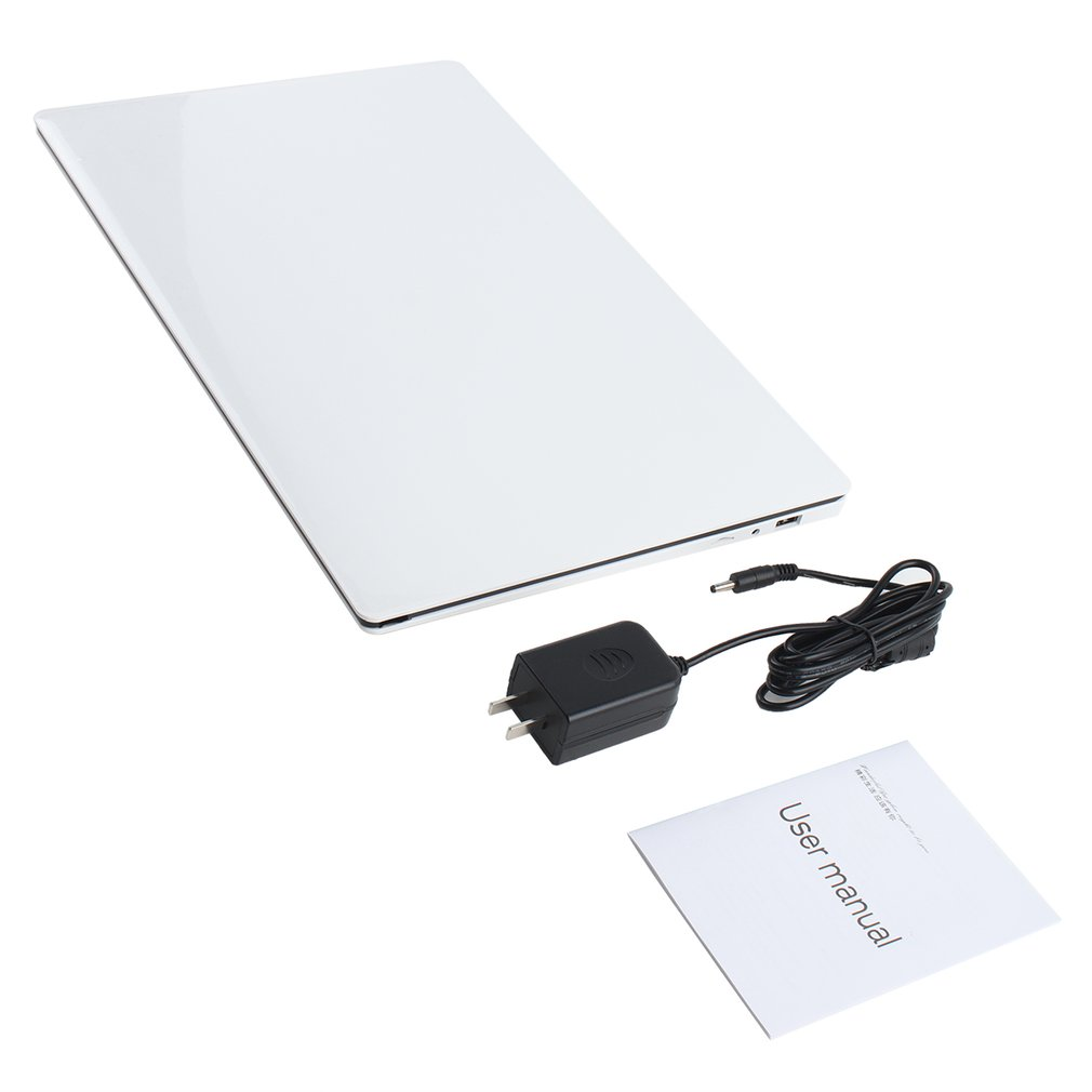 A10 Ultra-thin Laptop Notebook 15.6 Inch Intel Z8350 Quad Core 4G 64G Student Business Office Portable Computer
