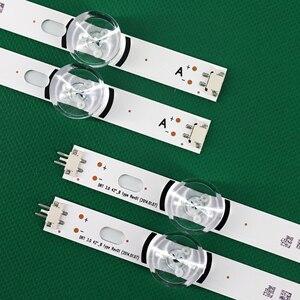 """Image 2 - 100% novos 8 pces (4 * a, 4 * b) tiras de led substituídas novas para lg innotek drt 3.0 42 """" a/b tipo 6916l 1709b 1710b 1957e 1956e 6916l 1956a"""