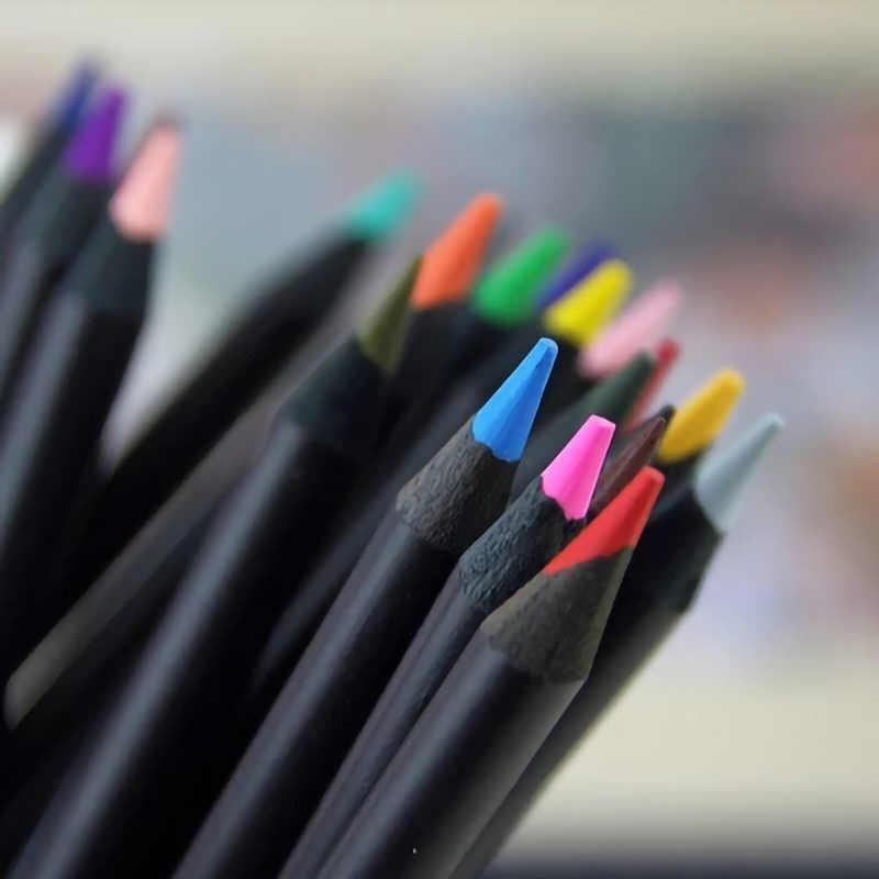 Lápices de Color 24/36/48 Set de lápices Prismacolor para lápiz de aceite de artista conjunto de papelería de arte profesional dibujo Lapis color de