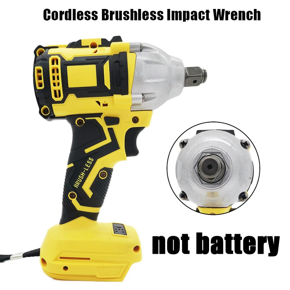 Cordless 1280W Brushless Adjustable 240-520NM Electric Hammer Drill 13