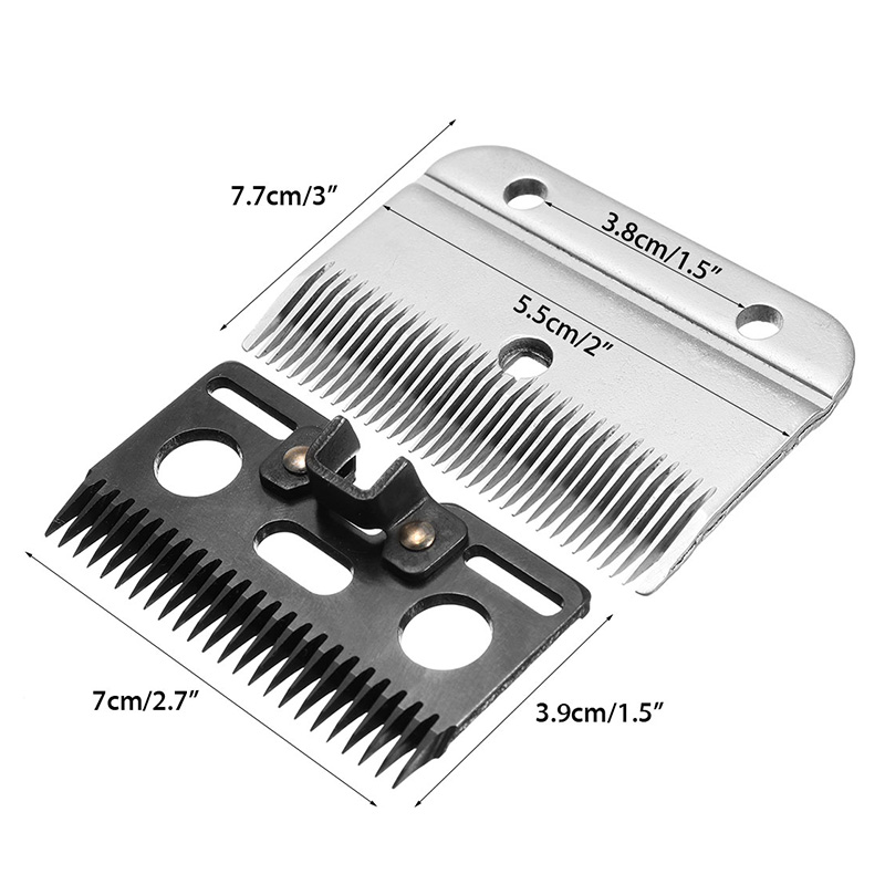 2 Pcs Medium Horse Hair Clipper Cutter Clipping Compatible Wolseley Liscop Liveryman Trimmer Grooming Blades ALS88
